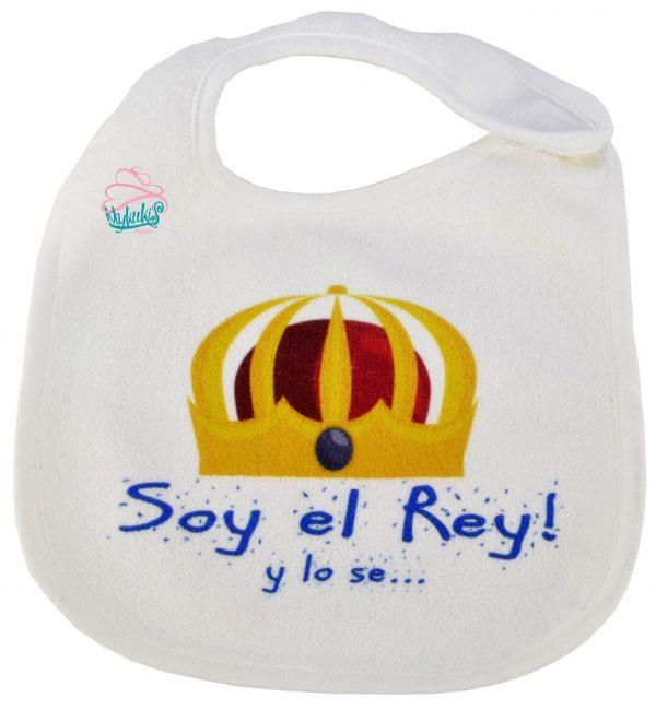 Babero Soy el Rey!