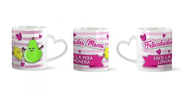 Taza Aza Corazón para Madres