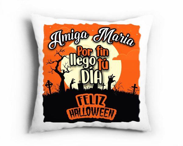 Cojín Halloween Amiga Bruja