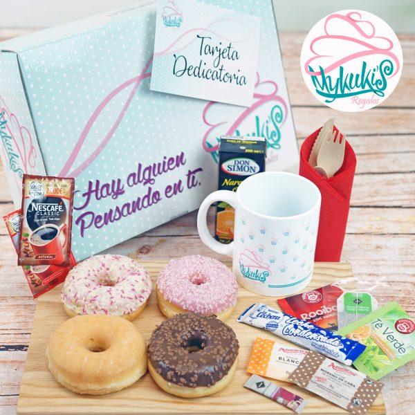 Desayuno a domicilio Donuts