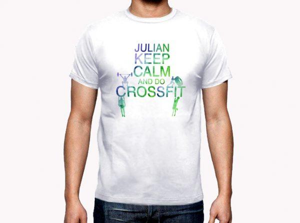 Camiseta Personalizada Crossfit