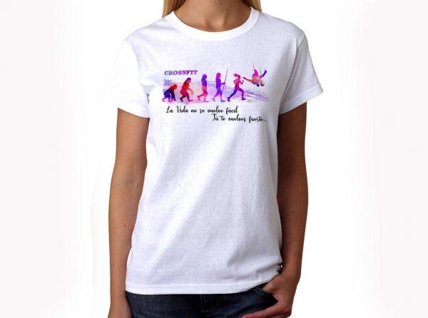 Camiseta Crossfit Mujer