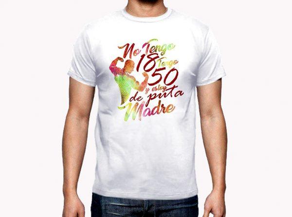 Camiseta Gym Hombre