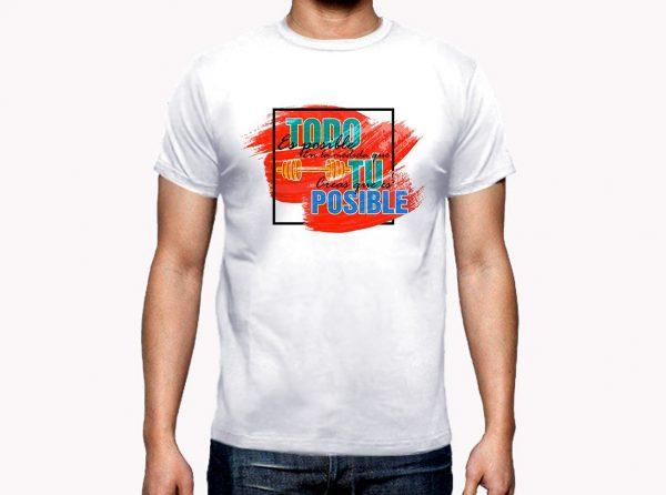 Camiseta Gym regalo hombre