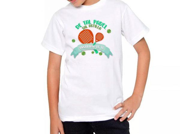 Camiseta Padel de Tal Padel tal Astilla Niñ@