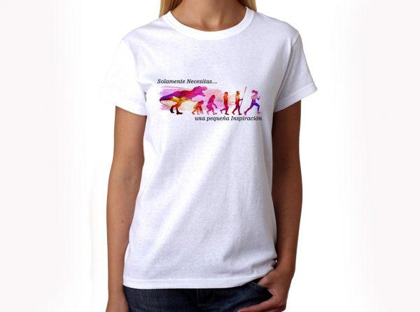Camiseta Running Pequeña inspiración chica