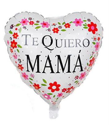 Globo de Helio Te Quiero Mama